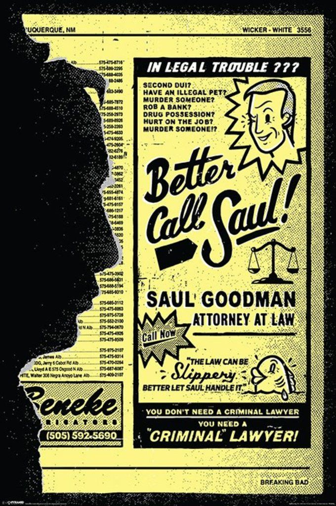 Breaking Bad - Better Call Saul - Official Poster