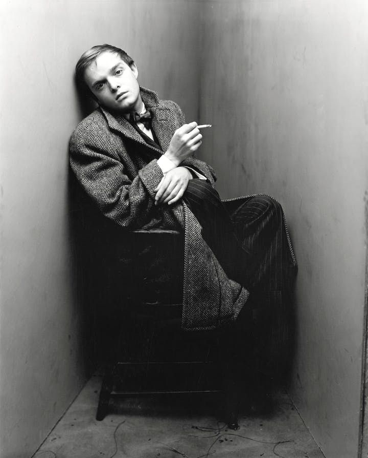 Truman Capote, New York, 1948 (1968), Irving Penn. © The Irving Penn Foundation