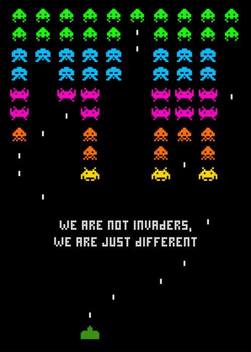Social Arcade #gaming #8bit #spaceinvaders