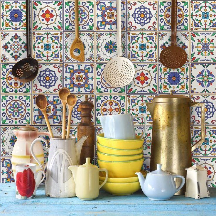 1000 ideias sobre azulejos para cozinha no pinterest - Azulejo sobre azulejo ...