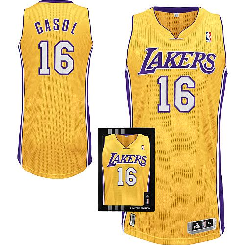 fca68fc03 ... Swingman Youth NBA Jersey Los Angeles Lakers Pau Gasol 16 Yellow  Authentic Jersey Sale ...