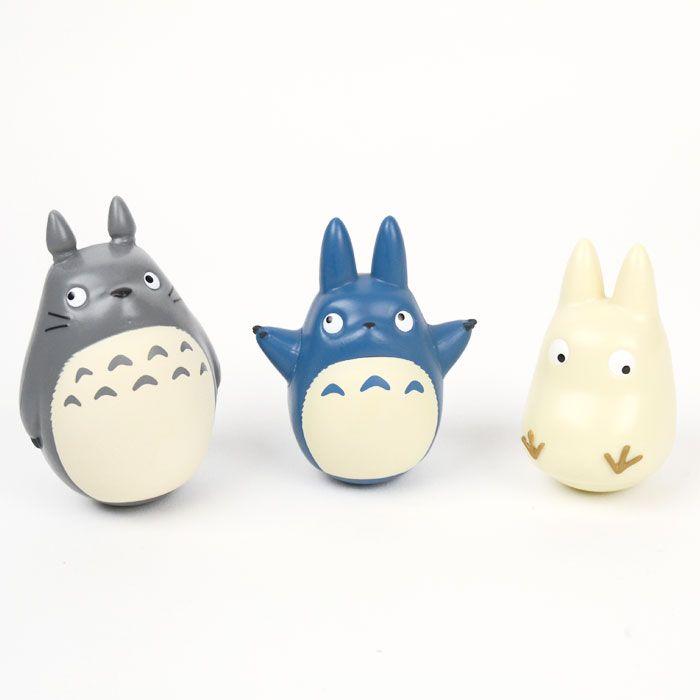 Totoro Tumble Doll Figure Set