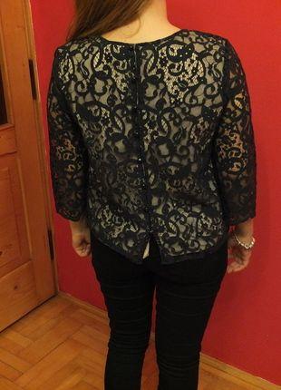Kup mój przedmiot na #vintedpl http://www.vinted.pl/damska-odziez/bluzki-z-3-slash-4-rekawami/10376138-hm-conscious-bluzka-koronkowa-r36s-nowa