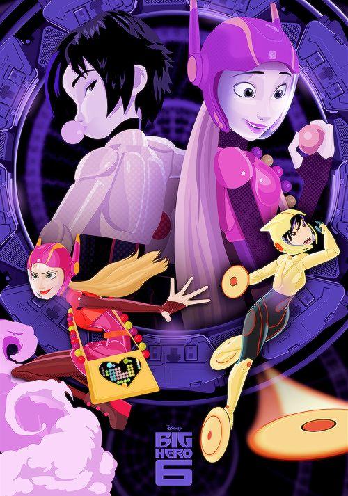 GoGo and Honey Lemon