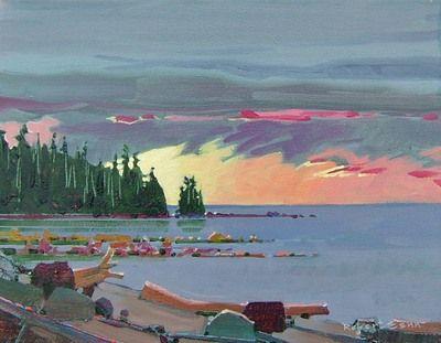 Robert Genn Art and Artwork For Sale by Pegasus Gallery of Canadian Art ~ Salt Spring Art Galleries