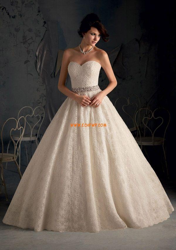 Little White Dresses Sleeveless Lace-up Wedding Dresses 2013