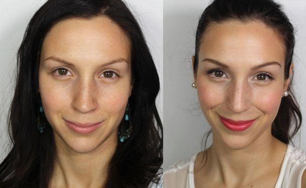 Maquillage bonne mine Cynthia Dulude
