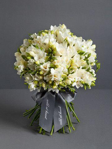 Freesia Bouquet Freesia Flowers White Freesia Flower Bouquet Bouquet