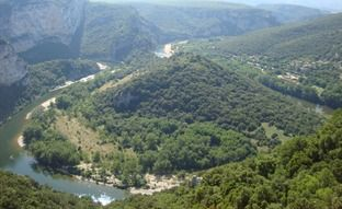 The Ardeche, France