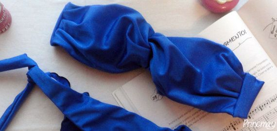 Fascia annodata arricciata  Costume da Bagno fatto a di Princmay, €26.75