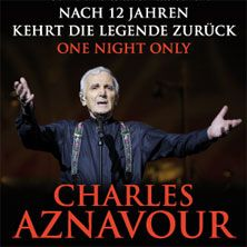 Kartenvorverkauf für Charles Aznavour in Berlin und Frankfurt | VVK-Start am Freitag um 9 Uhr