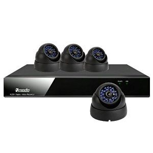 ZMODO 8CH CCTV Video DVR Security Surveillance Camera System with 4 Waterrproof Vandalproof Sony CCD Surveillance Cameras- No Hard Drive - http://electmecameras.com/camera-photo-video/security-surveillance/zmodo-8ch-cctv-video-dvr-security-surveillance-camera-system-with-4-waterrproof-vandalproof-sony-ccd-surveillance-cameras-no-hard-drive-com/