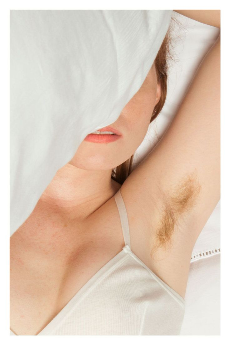 NSFW photo series shows what happens when you stop shaving your armpits (and everything else)