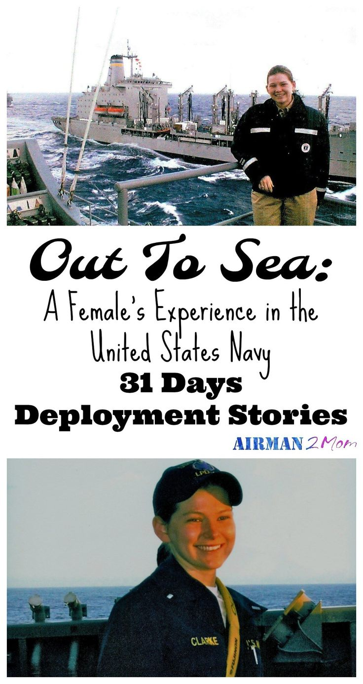 What is it like to serve on a Naval Vessel. The ratio of men to women can be daunting, but somehow she made it through. Read her whole story. #navy #deployment #militarylife