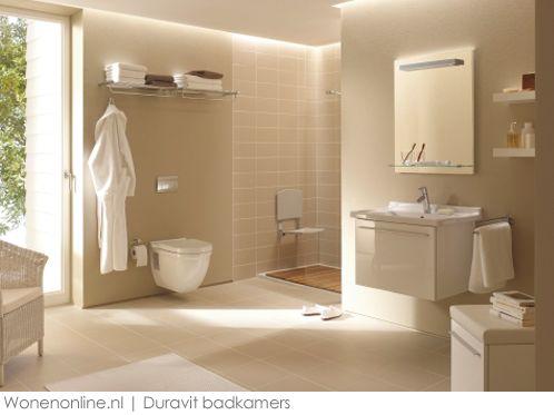 Duravit badkamer #badkamers Geen tegels achter toilet en kraan