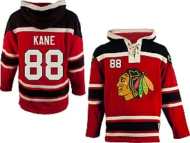 0a3468bcc old time hockey chicago blackhawks 88 patrick kane red hoodie
