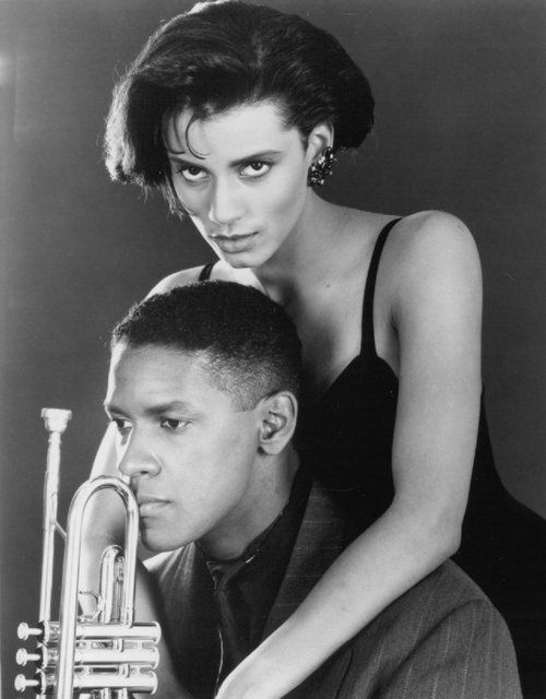 MO; BETTER Denzel Washington and Cynda Williams in Spike Lee's Mo' Better Blues (1990)