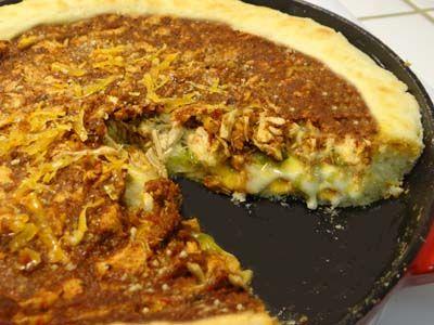 gluten free Chicago Style with Optional Taco Filling - http://glutenfreerecipebox.com/gluten-free-chicago-style-pizza-taco-filling/
