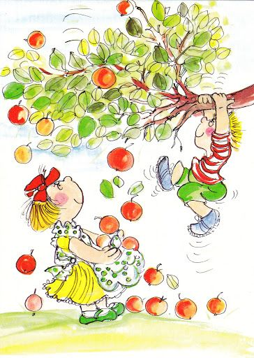 Meidän omenat?  (Our apples?)