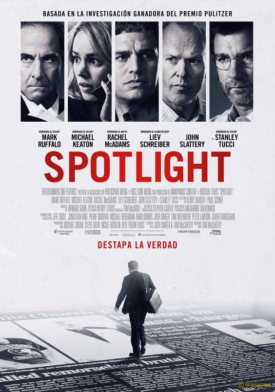 Spotlight [Enregistrament de vídeo] / directed by Tom McCarthy ; written by Josh Singer, Tom McCarthy
