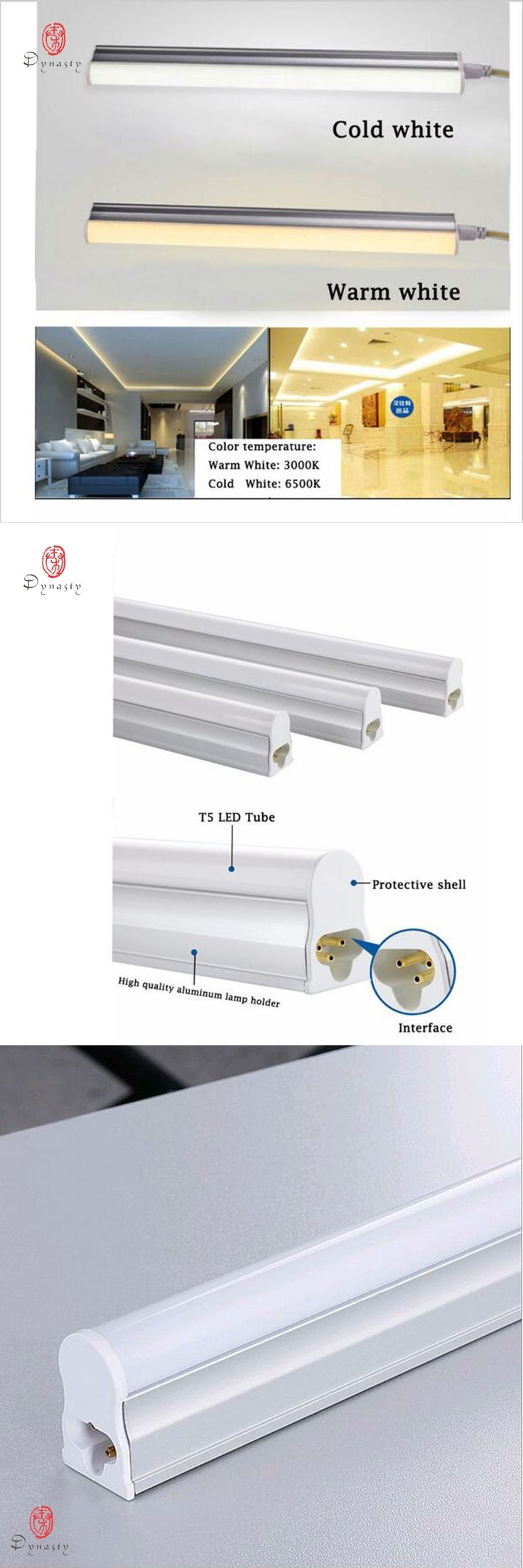 LED T5 T8 Tube Super Bright Replace of Traditional Ballast Fluorescent T5 T8 30CM 60CM 1Feet 2 Feet LED Fixture Strip Dynasty
