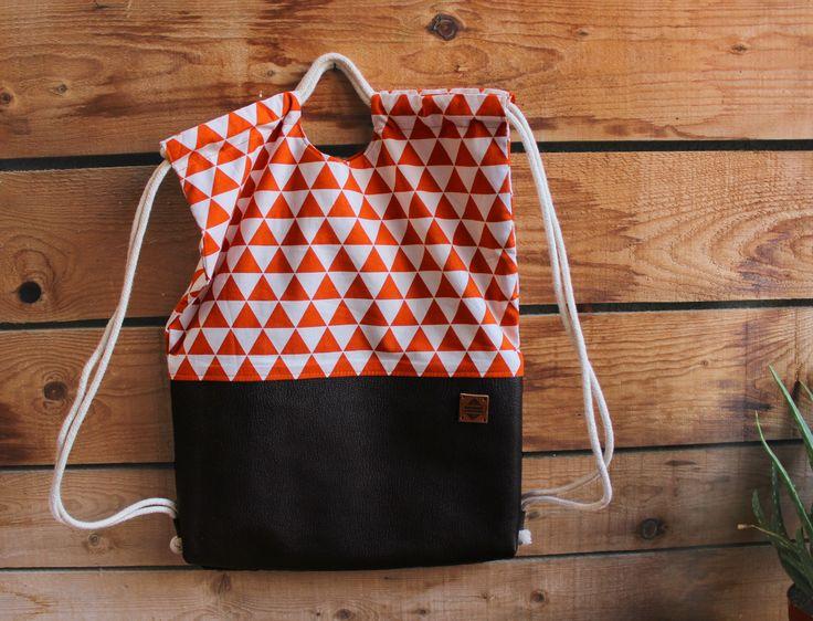 Excited to share the latest addition to my #etsy shop: 2Ways Drawstring Bag, Orange Backpack,Shoulder Bag/Handbag http://etsy.me/2icGKCw #bagsandpurses #backpack #orange #christmas #handbag #sportbag #drawstringbag #stringbag #stringbackpack
