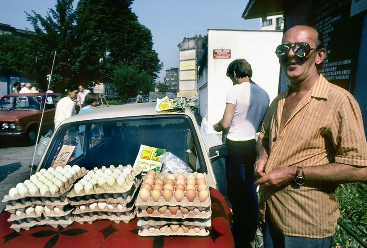 Prywatna sprzedaż jaj, Wrocław 1982