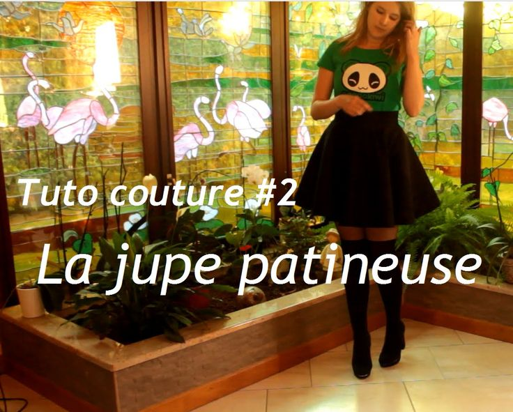 Tuto couture #2 : la jupe patineuse / circle skirt