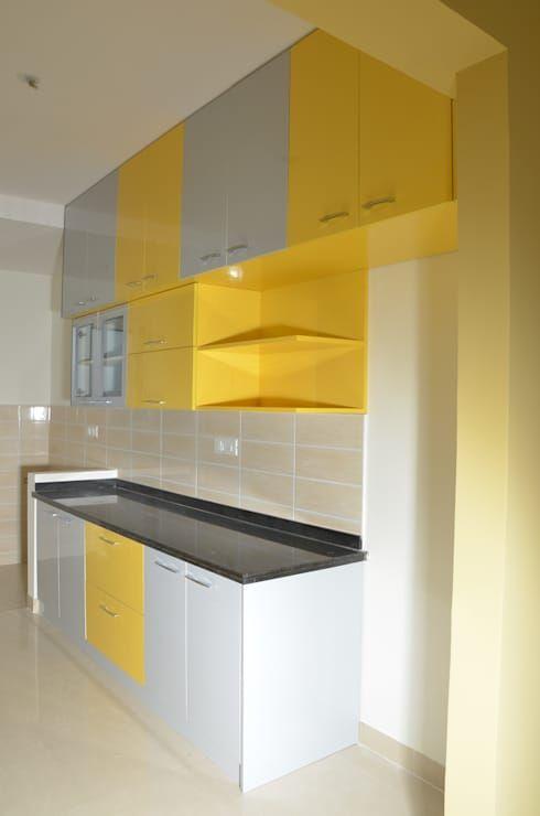 Complete 3bhk Interiors For Salarpuria Sattva Senorita Apartment