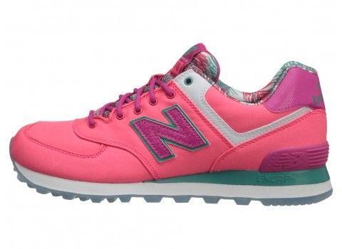 New Balance Classics WL574-Island Pack Women's Shoes Pink