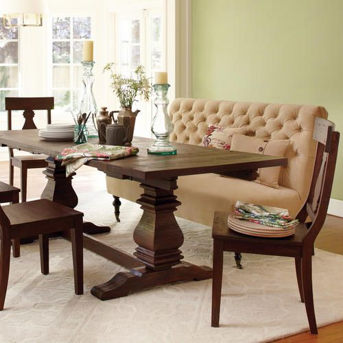 Arcadia Extension Table Chairs Beauty And Bench Seat