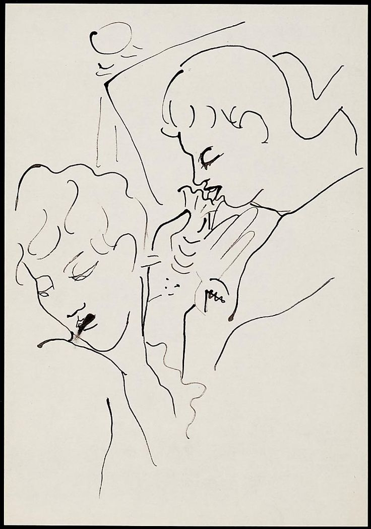 Soixante dessins pour 'Les enfants terribles'  1935 Jean Cocteau: Paintings Drawings, Erotic Drawings