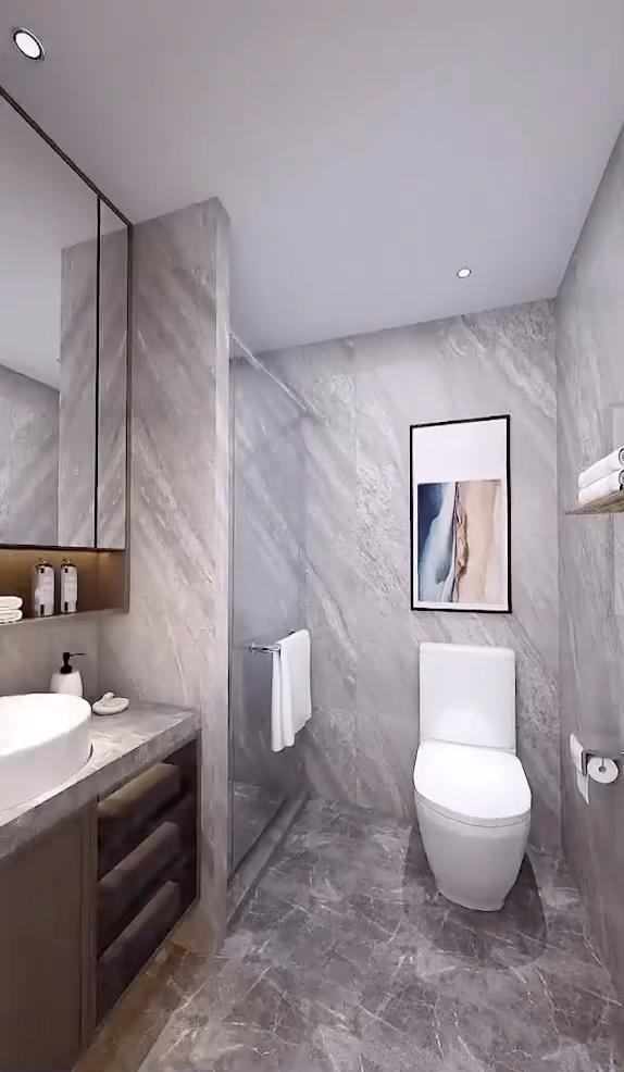 Toilet And Bathroom Design, Washroom Design, Bathroom Design Luxury, Master Bathroom, Cozy Bathroom, Comfort Room Tiles Small Bathrooms, 5x7 Bathroom Layout, Modern Toilet Design, Modern Small Bathroom Design