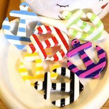 28*33 MM 2 unids Encantos de Anclaje de Resina Del Color Del Caramelo de Diy Que Hace Pulsera/Llaveros/Collar de Accesorios bisuteria(China (Mainland))