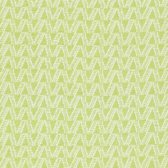 Handmade Thom Filicia Ackerman Key Lime Green Rug (2' x 8')