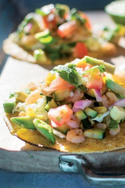 Recept Taco's met garnalen | ELLE Eten