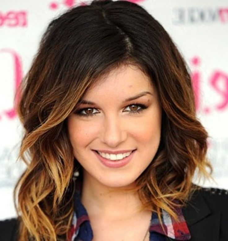 Medium Length Brown Ombre Hair
