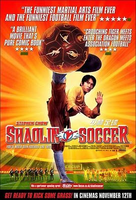 Shaolin Soccer. Stephen Chow, 2001. Hong Kong. Fútbol y artes marciales.