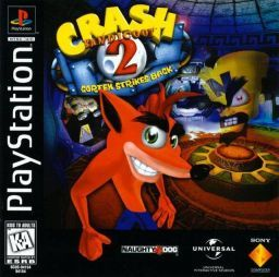 """Crash Bandicoot 2- The art style of the game has been kept the same through out the series, the only difference is the graphics have become better in quality.All the characters have odd proportions , for example Doctor Neo Cortex has a enlarged head to show a physical side to his """"brains""""."""