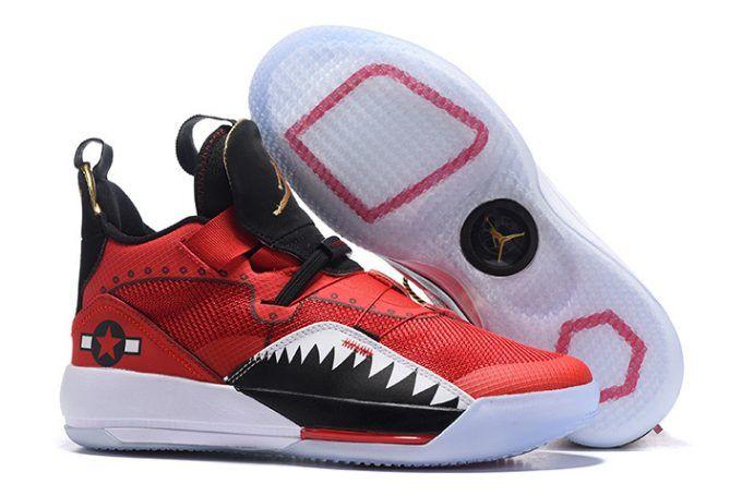 san francisco 8b270 71648 2018 Air Jordan 33 Future of Flight Bright Red Black White Sneakers-1