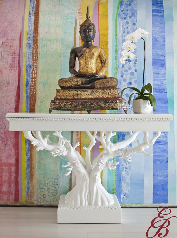 My Friend Erika Brunson Has Fabulous Taste. She Took An Antique Console  Table And Produced