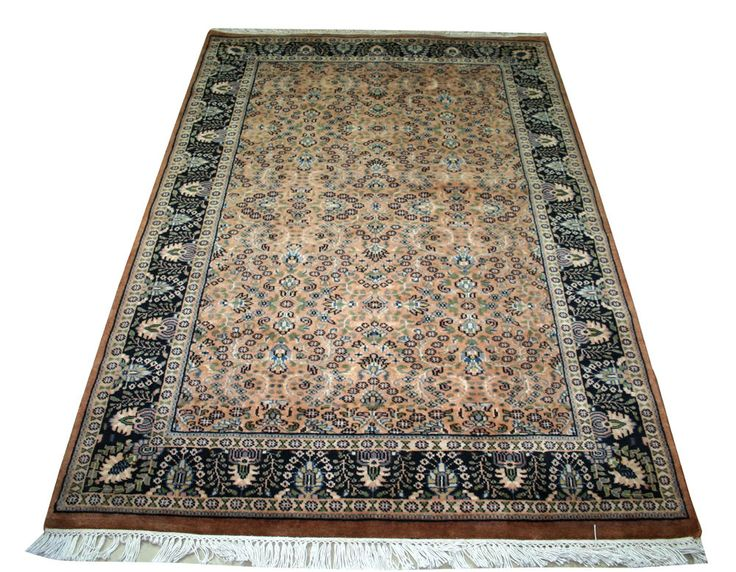 Hand Woven Cashmere Wool Classic 4x6 Tabriz Agra Persian Oriental Area RUGS EDH #Unbranded #TraditionalPersianOriental