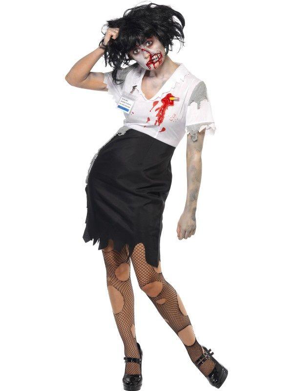 Urzędniczka zombie - wydaje nam się, że czasami widujemy takie w urzędach :)