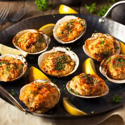 Simple And Delicious Clams Casino