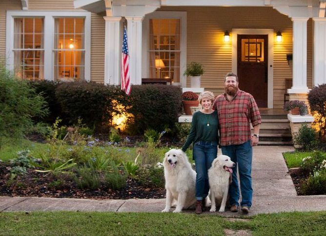 The story of how Erin and Ben Napier came to own the George F. Haynes House, a Craftsman Cottage in Mississippi and have made it their own.