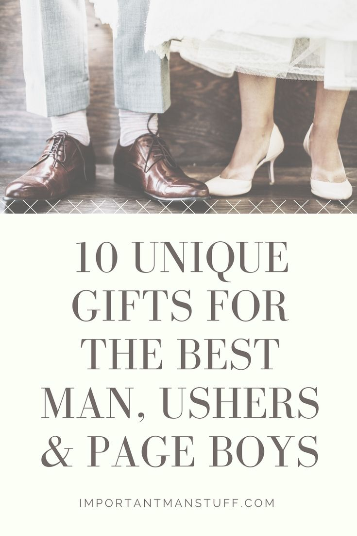 Need a gift for the best man and groomsmen? Check out this guide of gifts that they will cherish.