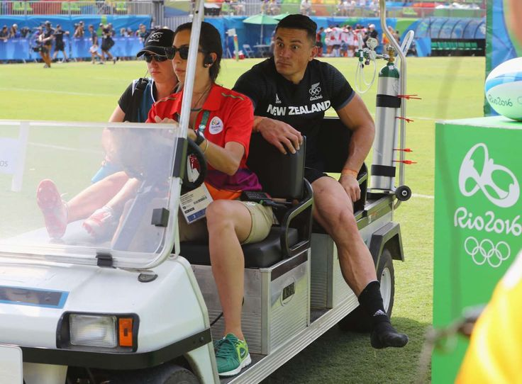 Rio Olympics: Highs and lows from day four:      Rugby setback for New Zealand:    New Zealand's rugby star Sonny Bill Williams got badly injured and was carried off the field during the Men's rugby sevens Pool C match against Japan. His team lost 14-12. According to reports, Williams suffered a partial Achilles rupture and could take up to nine months to rehabilitate.