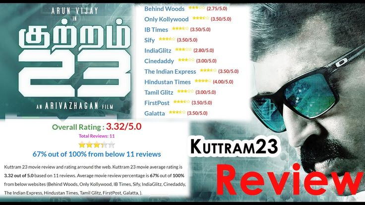 Kuttram 23 Movie Review By Aakash | Arun Vijay,  Arivazhagan | Tamil Cinema Review | Film ReviewKuttram 23 Movie Review By Aakash | Arun Vijay, Mahima Nambiar, Arivazhagan | Tamil Cinema Reviews | Movie Review From Top Online Websites | Online ..... Check more at http://tamil.swengen.com/kuttram-23-movie-review-by-aakash-arun-vijay-arivazhagan-tamil-cinema-review-film-review/