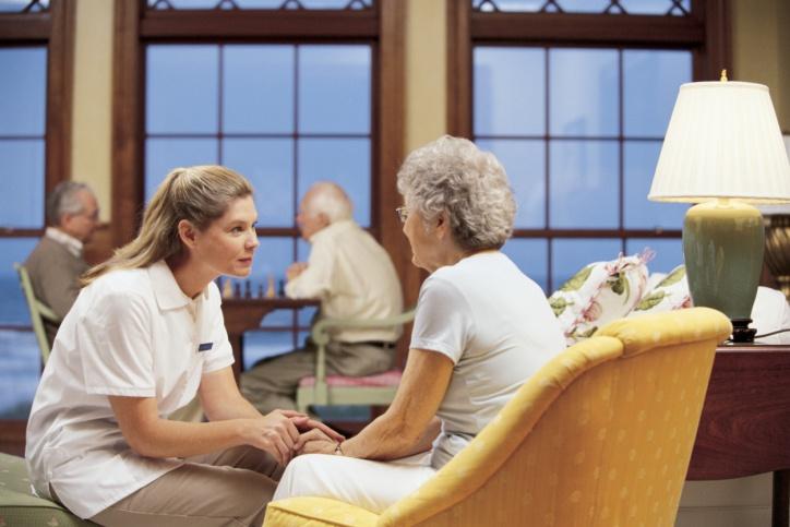Zorg voor ouderen in een tehuis