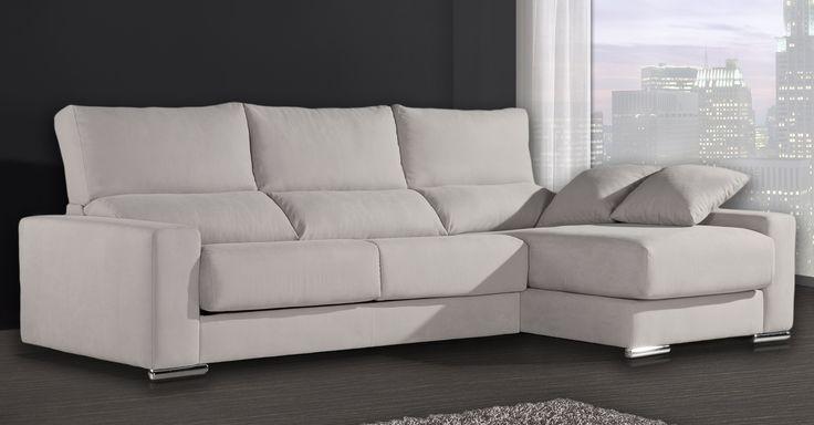 Sofá chaiselongue Bernini de Gamamobel a un precio increible. Descubre nuestras ofertas en sofás modernos.